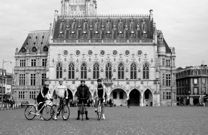 London to Paris Cycling Trip 2016