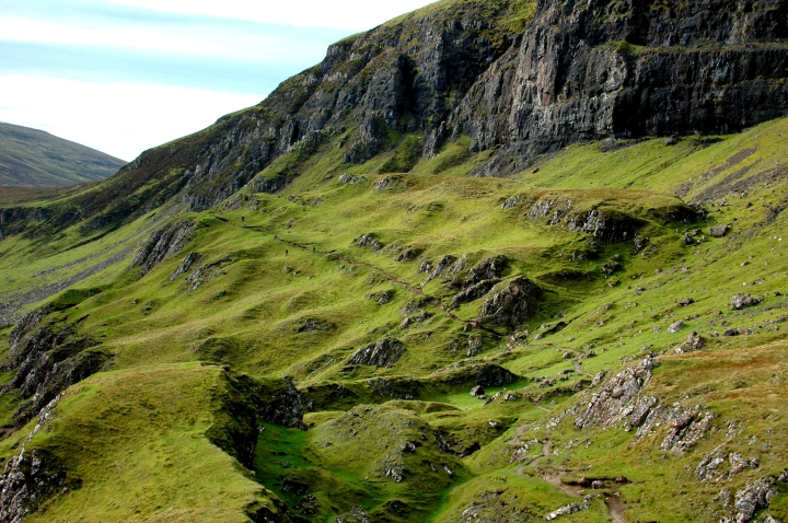 Hiking the Quiraing on the Isle of Skye