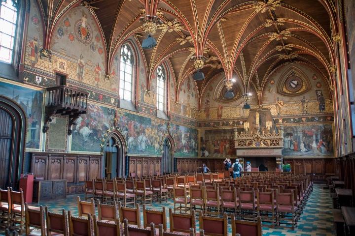 City Hall, Burg Square, A travel guide to Bruges, Belgium