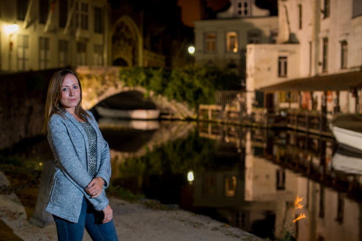 Nightime reflections in Bruges Canals - A Travel Guide to Bruges, Belgium