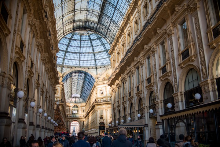Galleria Vittorio Emanuele II - Travel Notes on Milan, Italy