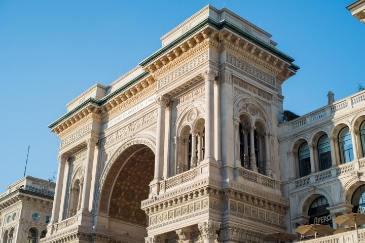 Beautiful building in Milan - Travel Notes on Milan, Italy